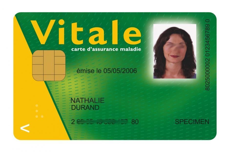 Carte Vitale Specimen Lycee Germaine Tillion Montbeliard