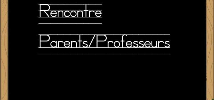 Réunion parents de la SEP (3è prépa pro et 2nde pro)