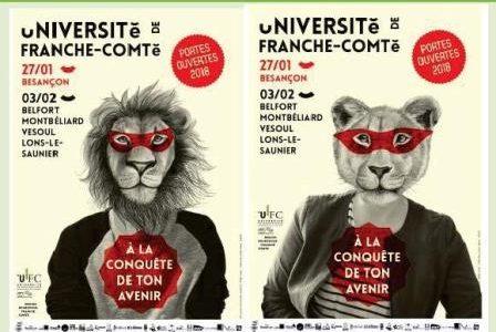 Université de Franche-Comté : JPO, orientation, stages, emploi