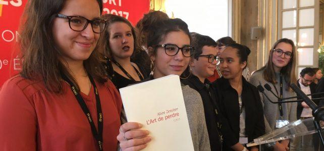 Le Prix Goncourt des lycéens 2017 attribué à Alice Zeniter
