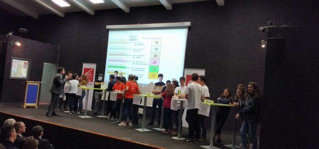 Quiz Économie et territoires : Les honneurs de la demi-finale pour le Lycée Germaine Tillion