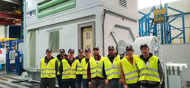 Visite chez General Electric à Belfort