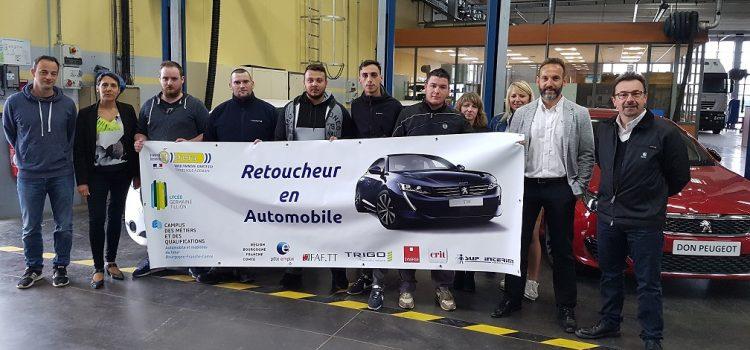 Formation Retoucheur Électricité Automobile