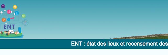 Enquête sur l'ENT (Espace numérique de Travail)