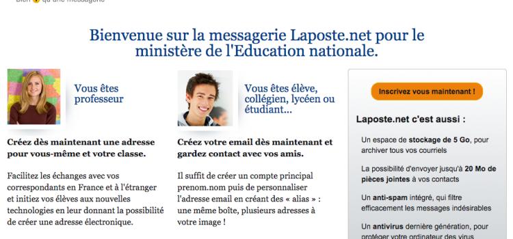 Une messagerie électronique pour tous les élèves