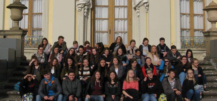 Le lycée à Ludwigsburg…