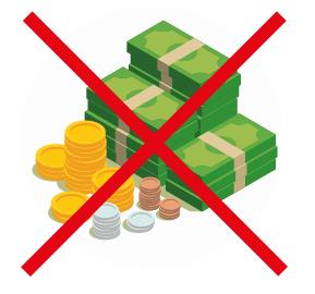 Information pour le paiement de la restauration