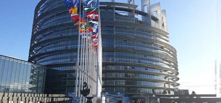 Les élèves de TSA découvrent le Parlement Européen de Strasbourg !