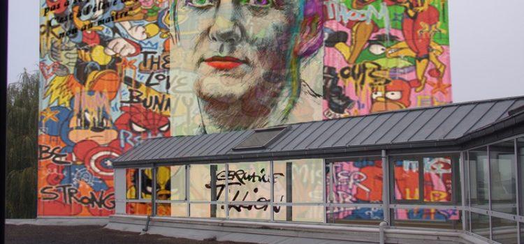 Projet de peinture murale en hommage à Germaine Tillion