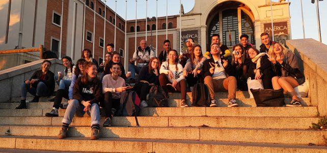 Les élèves du Bachibac à Madrid