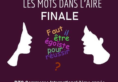 """Concours d'éloquence inter-lycées en BTS : """"Les mots dans l'Aire"""" 1ère édition"""