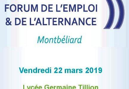 Forum de l'emploi et de l'alternance
