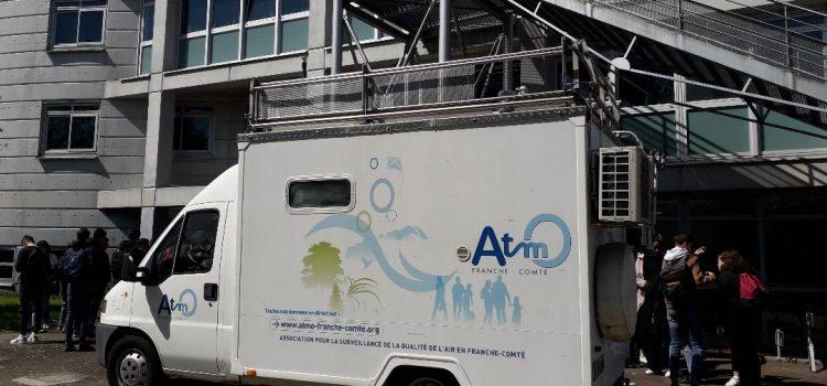 A la découverte de la qualité de l'air avec l'association ATMO !