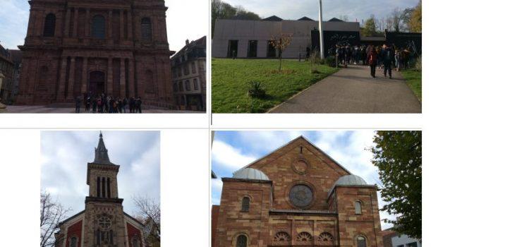 Visite de sites religieux à Belfort