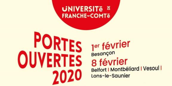 L'Université de Franche-Comté ouvre ses portes