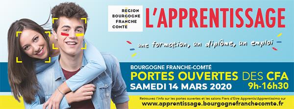 Portes ouvertes de l'Apprentissage dans tous les CFA de Bourgogne-Franche-Comté