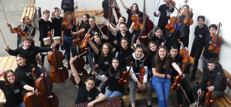 La classe orchestre GAM pendant le confinement