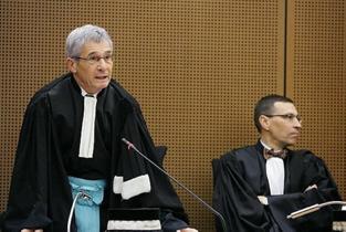 Intervention de B. Lebeau, procureur de la République