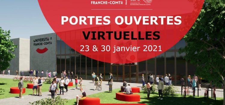 Parcoursup : Journées portes ouvertes virtuelles