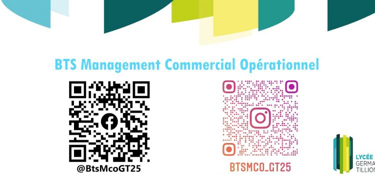 Le BTS MCO sur les réseaux sociaux