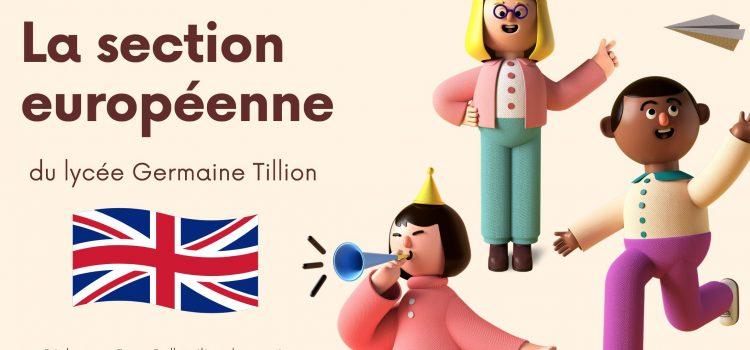Osez la section européenne Maths Anglais!